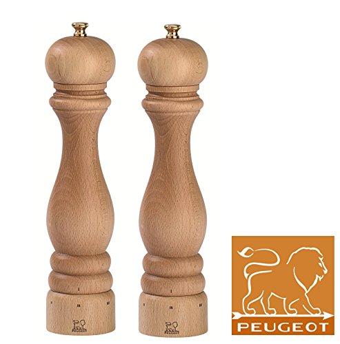 Peugeot Paris Ensemble moulin à poivre et à sel naturel u'Select 27 cm