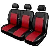 Universel Rouge Polyester Housses Kit complet Housse de siège pour siège auto...