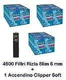 IRPot - 4500 FILTRI SLIM RIZLA + ACCENDINO CLIPPER