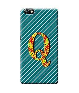 Be Awara Alphabet Q Designer Mobile Phone Case Back Cover For Huawei Honor 4X