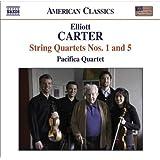 Elliott Carter: String Quartets Nos. 1 & 5