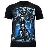 Rock Eagle T-Shirt Heavy Metal Biker Tattoo Rocker Gothic (S - XXXL) (XL, 4047)