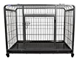 Best Heavy Duty Dog Crates - The Pet Store Premium Dog Crate with Lockable Review