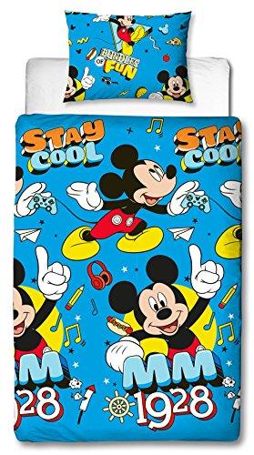 Disney Juego de edredón Mickey Mouse