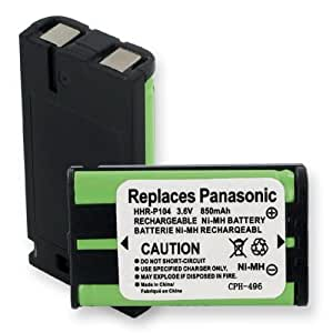 Replacement Battery For PANASONIC HHR-P104 KXTGA545