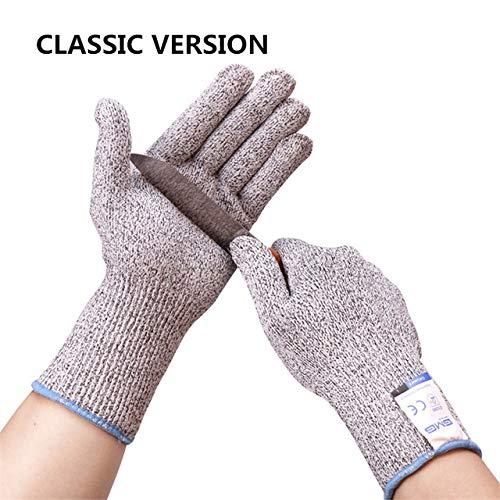 Mdder Schnittschutzhandschuhe Touchscreen Heißer GMG Gelb HPPE EN388 ANSI Schnittschutzhandschuhe der Sicherheitsstufe 5 SchnittschutzhandschuheClassic Versions