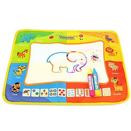 ✿Peinture à L'eau 40 * 30 Cm✿Lolittas Enfants ÉDucation Magique Peinture à L'Eau Couleur Graffiti Conseil Jouet