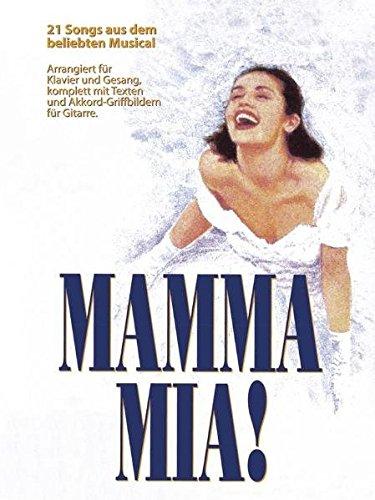 Mamma Mia Musical - German Edition: Buch für Klavier, Gesang, Gitarre