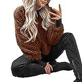 OIKAY Flauschige Mantel Fleece Pelz Jacke Oberbekleidung Damen Winter warme Tasche Hoodies Wrap Damen Jacke jacken Damen Winterjacke