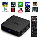 [2rd Generation] GooBang Doo MXQ Android TV Box Quad Core Amlogic S805 1GB RAM 8GB ROM 1080p WIFI HDMI Streaming Media Player