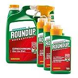 Roundup AC 3 Liter Anwendungsfertig + 3 x 400 ml Konzentrat