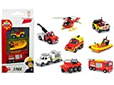 Character Options Fireman Sam 3-Pack of Diecast (Styles May Vary)