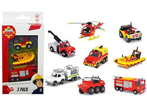 Fireman Sam Three Pack Die-cast (Jupiter / Venus / Neptune) 3-pack (modell sortiert) Preisvergleich