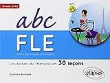 Français Langue Étrangère Abc FLE les Bases du Français en 30 Leçons Niveau A1-A2 Avec Fichiers MP3 à Télécharger...