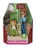 Bullyland 46005 - Pettersson und Findus in Geschenk Box Spielfigurenset, 2 teilig