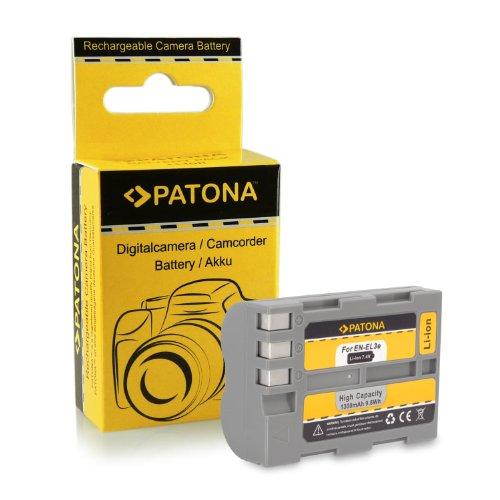 Batteria de qualità premium come Nikon EN-EL3E con Infochip · 100% compatibile con Nikon D50 | D70 | D70s | D80 | D90 | D100 | D200 | D300 | D300S | D700