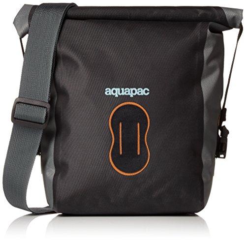 Aquapac Borsa a tracolla a tenuta stagna per fotocamere tipo reflex (SLR), 28 cm, multicolore (nera/grigia)