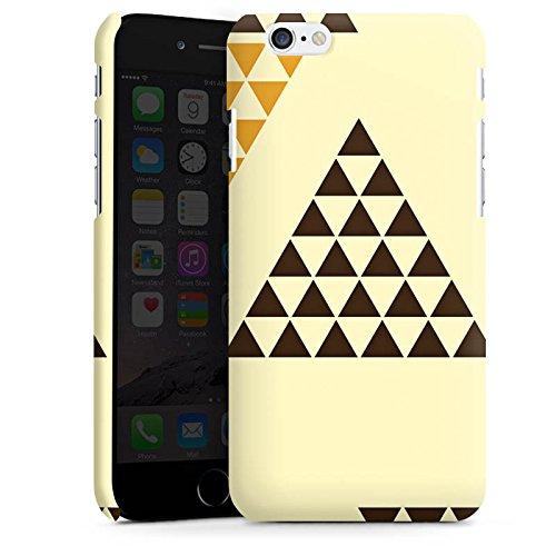 Apple iPhone X Silikon Hülle Case Schutzhülle Dreieck Pyramide Triforce Premium Case matt