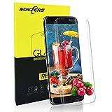 Verre Trempé pour Samsung Galaxy S7 Edge, [3D Couverture Complèt] Film Protection d'Écran en Verre Trempé Transparent, [3D Tactile Compatible] [9H Dureté] Anti-Rayures et Résistant sans Bulles