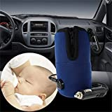 12V Portable DC Car Baby Bottle Warmer Warmer Calentador Food Milk Travel Cup Covers Con protección automática de sobrecalentamiento