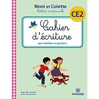 Cahier d'écriture Rémi et Colette CE2