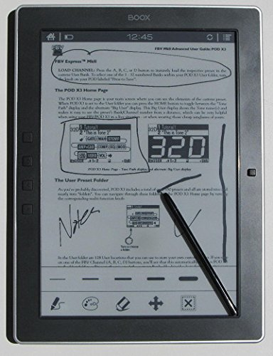 Onyx BOOX M96C Plus - 9.7 inch E Ink Pearl display e-book reader with Capacitive Touchscreen, Google Play Play Store, Bluetooth 4.0 Low Energy. Powered by Android 4.0.4