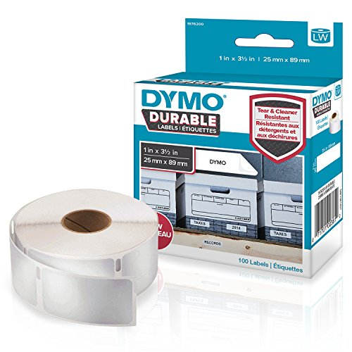 Dymo (25mm-89mm) Durable (1 x Pack 100 Labels) lowest price