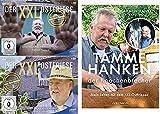 Tamme Hanken - Der XXL-Ostfriese - Nur das Beste Teil 1 & 2 + Buch (Mein Leben mit dem XXL-Ostfriesen) im Set - Deutsche Originalware [4 DVDs]