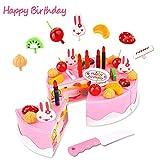 Lychee Lebensmittel Set Spielzeug Spielküche Essen Spielzeug Küchespielzeug für Kinder (Schneiden Kuchen gesetzt)