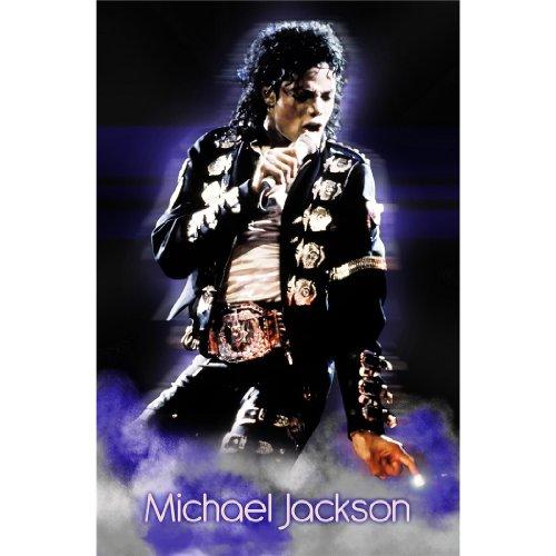 Michael Jackson (24inch x 37inch / 60cm x 92cm) Silk Print Poster - Seide Plakat - 2D0441 (Home Decor Jackson Michael)