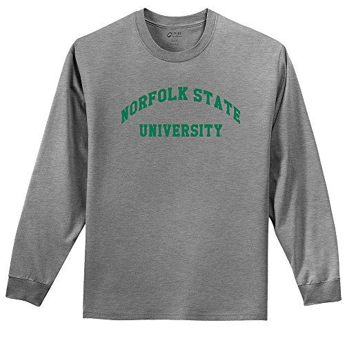 Campus Merchandise NCAA Youth Langarmshirt, Unisex-Kinder, NCAA Youth Long Sleeve T-Shirt, Athletic Heather, X-Large (Kinder American T-shirt Apparel)