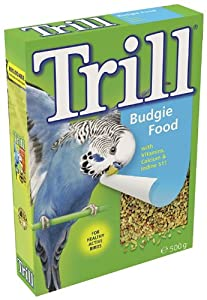 Trill Budgie 500 g (Pack of 12) from Mars Petcare Uk