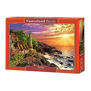 CASTORLAND Stoney Cove 500 pcs Puzzle - Rompecabezas (Puzzle Rompecabezas, Paisaje, Niños y Adultos, Niño/niña, 9 año(s), Interior)