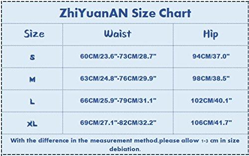 Zhiyuanan Pantalon Imitation Cuir Femme Slim Taille Haute Casual Crayon Legging Pantalon Taille Elastique Automne Noir 519