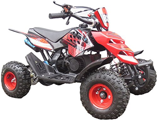 bandit-kids-mini-quad-bike-49cc-50cc-petrol-quad-ride-on-atv-off-road-automaticred