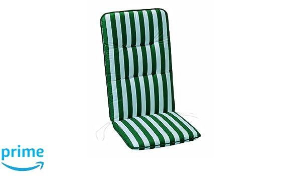 Rettangolo Best 05100269 Cuscini 50x 100 x 6 cm Colore Verde//Bianco