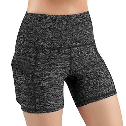 Wawer Yoga Hosen Damen Hight Waist Yoga Hosen Sommer Slim Fit Leggings Skinny Jogginghose Freizeithosen Streifen Stretchhose Beam Fuß Hosen - Langarm Thermo Nachthemd