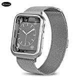 ATpart Milanese Uhrenarmband für Apple Watch Edelstahl Mesh Sport Armbandschlaufe Smart Watch Armbänder für die Iwatch-Serie