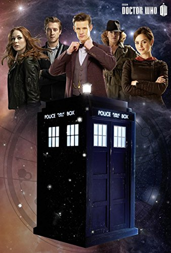 Doctor Who Poster Tardis Glow-In-The-Dark (61cm x 91,5cm) + Ü-Poster (Matt Smith Poster)