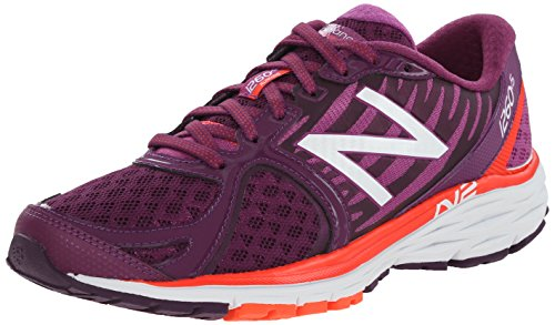 New Balance W1260 B V5, Damen Laufschuhe Violett (po5 Purple/orange)