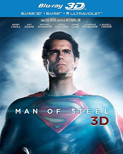 Preisvergleich Produktbild Man of Steel 3d [Blu-ray] [Import]