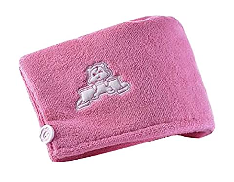 Quick-drying Towel Thickening Shower Cap,Peach Blossom