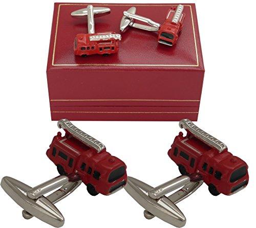 fireman-fire-engine-model-cufflinks