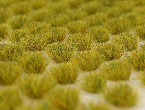 Hierba estampada autoadhesiva de la hierba del resorte de WWS x 100 tufts SPR006