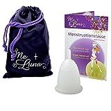 Me Luna Coupe menstruelle Classic, manche, transparent, taille M