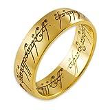 Herr der Ringe Schmuck by Schumann Design Der eine Ring Gelbgold 585 Rg 56 4001-056