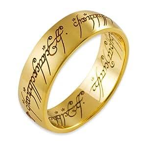 Seigneur des anneaux 4001 060 bague l 39 anneau unique l 39 anneau unique mixte or 14 - Tatouage seigneur des anneaux ...
