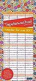 Tapetenwechsel 2017: Kalender für zwei