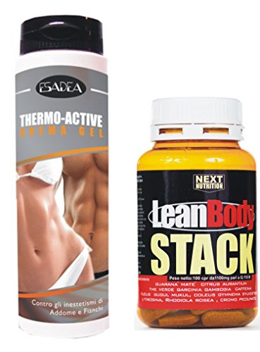 Kit Dimagrante : + 1 confezione Lean Body stack 100 compresse gr 110, + 1 (Thermo Fat Burner)
