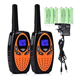 Upgrow Kids Walkie Talkie Rechargeable Walkie Talkies 2-Way Radio Toys 8 Channels Walky